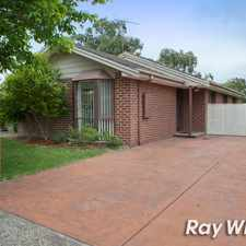 Rental info for UNDER APPLICATION - 3 BEDROOM FAMILY HOME! in the Langwarrin area