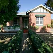 Rental info for Charming central residence in the Wagga Wagga area