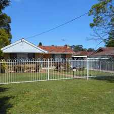 Rental info for Floreat Location, Floreat Lifestyle in the Perth area
