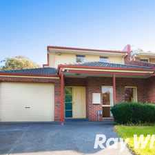 Rental info for Spacious family living and entertaining in the Melbourne area