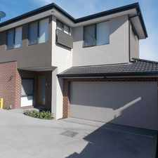 Rental info for Grand Living Excellence - As NEW 4 Bedroom Townhouse Ready NOW in the Oakleigh area