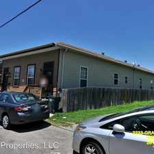 Rental info for 2235 Gravier in the New Orleans area