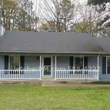 Rental info for 3br/2ba house with front porch, deck and double car garage, for rent in Little Rock