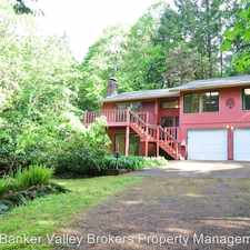 Rental info for 1045 NW Overlook Drive