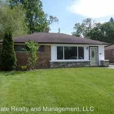 Rental info for 2031 175th St.