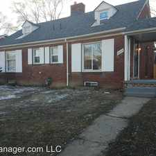 Rental info for 15841-15845 Evergreen Road - 15841 in the Brightmoor area