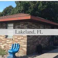 Rental info for Duplex/Triplex For Rent In LAKELAND. Will Consi...