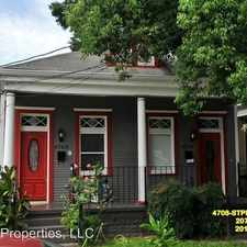 Rental info for 4708 St. Peter in the New Orleans area