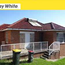 Rental info for 2A/2 Dovers Drive - Available in the Port Kembla area