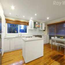 Rental info for Updated Delight in the Wantirna South area