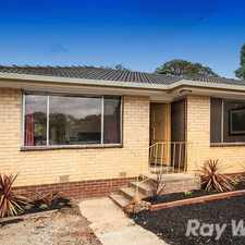 Rental info for CONVENIENTLY AND HIGHLY SOUGHT AFTER LOCATION in the Melbourne area