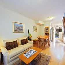 Rental info for DEPOSIT TAKEN - Two level terrace townhouse ( Enter via Boronia Street ) in the Sydney area