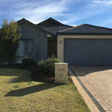 Rental info for SPACIOUS FAMILY FRIENDLY in the Perth area