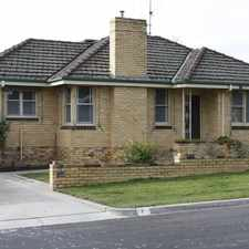 Rental info for Fresh Family Home! in the Bendigo area