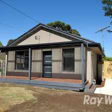 Rental info for 2 bedroom home plus study on a compact block