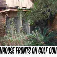 Rental info for 1962 LARETTE Drive Tallahassee Two BR, golf course town home