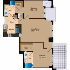 Rental info for $7260 2 bedroom Apartment in Arlington in the Crystal City Shops area
