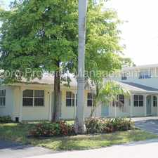 Rental info for Available NOW - Nice 1/1 in Victoria Park (VP) in the Fort Lauderdale area