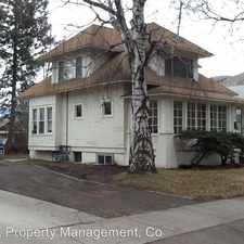 Rental info for 534 Eddy 3 in the Heart of Missoula area