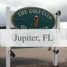Rental info for The Best Of The Best In The City Of Jupiter! Sa... in the Jupiter area