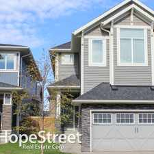 Rental info for 164 Cougar Ridge Manor SW - 5 Bedroom House for Rent in the Bowness area