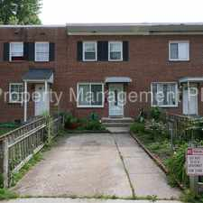 Rental info for 3751 Mark Drive in the Arlandria area