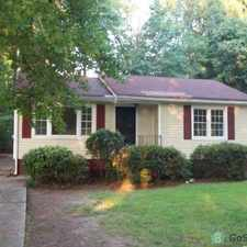 Rental info for Large Well Kept Home in good area of Atlanta. Nice Quiet Neighborhood, Good Neighbors. Hardwood Floors,Washer&Dryer, Dishwasher and Fridge in Kitchen, Master bedroom with all ceramic bathroom tub and flooring. in the Center Hill area