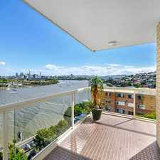 Rental info for STUNNING CITY AND WATERS VIEWS in the Brisbane area