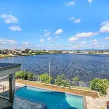 Rental info for STUNNING WATER FRONT RESIDENCE in the Carrara area