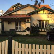 Rental info for Charming Two Storey Californian Bungalow In Sought After Village Setting