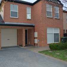 Rental info for Spacious Townhouse In Great Location! in the Adelaide area