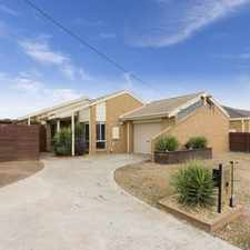 Rental info for Well-loved and in immaculate condition in the Werribee area