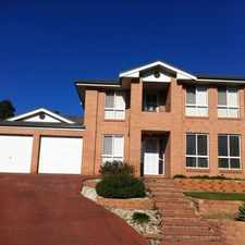 Rental info for SPACIOUS FAMILY HOME in the Mount Annan area