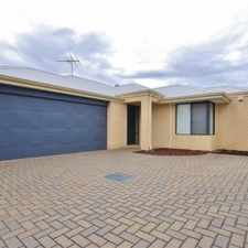 Rental info for REAR HOME - ONE WEEKS FREE RENT in the Perth area