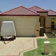 Rental info for YOU WONT FIND A BETTER HOME in the Perth area