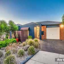 Rental info for *** APPLICATION PENDING***Creek Facing Elegant Home in Seasons Estate! in the Melbourne area