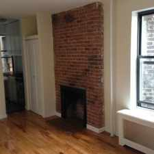 Rental info for Bleecker St & Cornelia St in the New York area