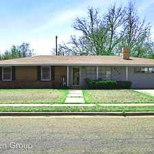 Rental info for 2713 37th Street in the Lubbock area
