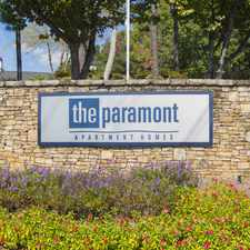 Rental info for The Paramont