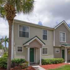 Rental info for The Coast Townhomes of Naples Florida