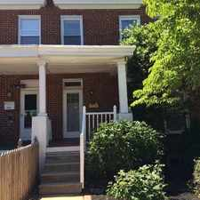 Rental info for 4442 Newport Ave. in the Roland Park area