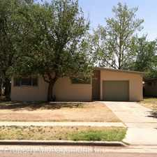 Rental info for 4419 44th St. in the Lubbock area