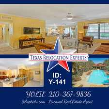 Rental info for IH 10 West in the San Antonio area