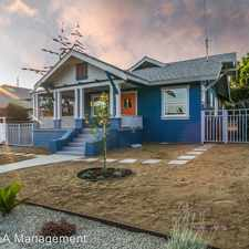 Rental info for 6121 Tipton St. in the Eagle Rock area