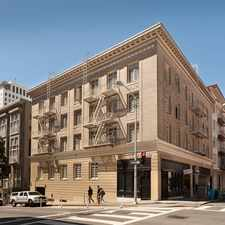 Rental info for 709 GEARY Apartments in the San Francisco area