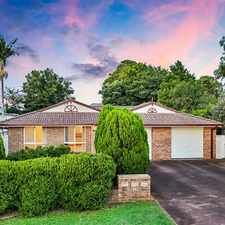 Rental info for REMARKABLE LOCATION GREAT DUPLEX DESIGN in the Toowoomba area