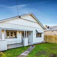 Rental info for CLASSIC CHARM, GREAT LOCATION! in the Brunswick East area