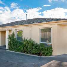 Rental info for Great Unit In a Great Location in the Melbourne area