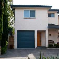 Rental info for Executive Townhouse
