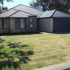 Rental info for LARGE SPACIOUS HOME IN SCENIC WANNANUP - WALK TO ESTUARY!!
